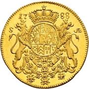 1 Ducat - Karl II. August – revers