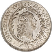 20 Kreuzer - Christian IV – avers