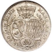 20 Kreuzer - Christian IV – revers