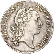 1 thaler Christian IV – avers