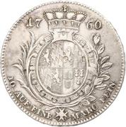 1 thaler Christian IV – revers