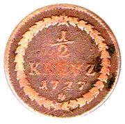 ½ kreuzer - charles theodor (pfalz) – revers