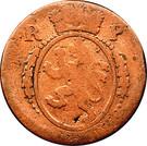 ½ kreuzer Maximilian IV Joseph – avers