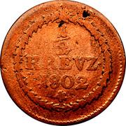 ½ kreuzer Maximilian IV Joseph -  revers