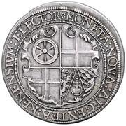 1 thaler Johann Casimir – revers
