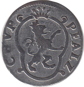 2 kreuzer Karl Theodor – avers