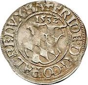 ½ Batzen - Friedrich II. – avers