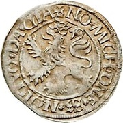 ½ Batzen - Friedrich II. – revers