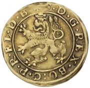 1 goldgulden Friedrich V – avers