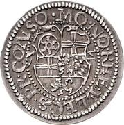 ½ Batzen - Friedrich III. – revers
