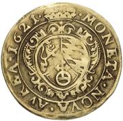 1 goldgulden Friedrich V – revers