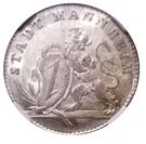 1 ducat Karl Theodor(Jubilée d'or; frappe essai en argent) – avers