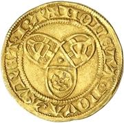 1 Goldgulden - Friedrich I. – revers