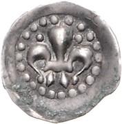 1 Pfennig - Ruprecht II. (Lilienpfennig) – avers