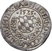 1 Batzen - Friedrich II. – avers