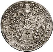 1 Guldentaler - Friedrich III. – avers