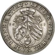 1 Thaler - Friedrich IV. – revers