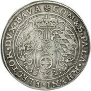 1 thaler Friedrich V – revers