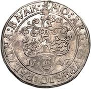 1 Thaler - Friedrich II. (Neumarkt) – revers