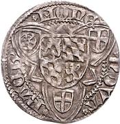 1 Weißpfennig - Friedrich I. der Siegreiche (Bacharach) – revers