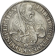 ½ Thaler - Friedrich III. – avers