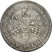 ½ Thaler - Friedrich III. – revers