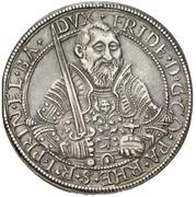 1 Thaler - Friedrich III. (Rheinischer Münzvereinstaler) – avers