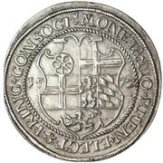 1 Thaler - Friedrich III. (Rheinischer Münzvereinstaler) – revers