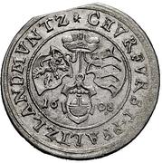 ¼ Gulden - Friedrich IV. – revers