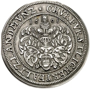 1 Gulden - Friedrich IV. – revers