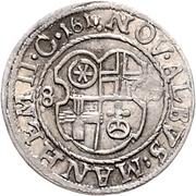 1 Albus - Friedrich IV. – revers