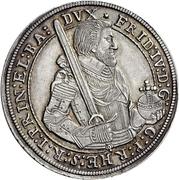 1 Thaler - Friedrich IV. – avers
