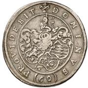 1 Gulden - Karl Ludwig – revers