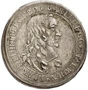 1 Gulden - Karl Ludwig – avers