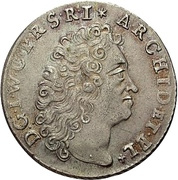 ⅙ Thaler - Johann Wilhelm II. – avers