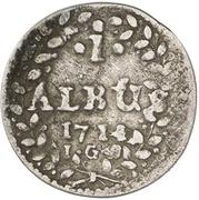 1 Albus - Johann Wilhelm – revers