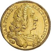1 Ducat - Karl Philipp (Rheingolddukat) – avers