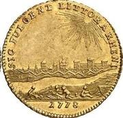 1 ducat Karl Theodor (Rheingold-Dukat) – revers