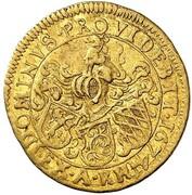 ½ ducat Karl Ludwig – revers