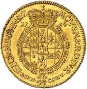 1 ducat Karl Theodor – revers