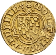1 Goldgulden - Ruprecht I. (Oppenheim) – revers