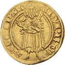 1 Goldgulden -Ruprecht I. der Rote (Bacharach) – avers