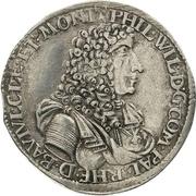 1 Gulden - Philipp Wilhelm von Neuburg – avers