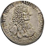 1 Gulden - Philipp Wilhelm – avers