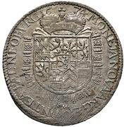 1 Gulden - Philipp Wilhelm – revers