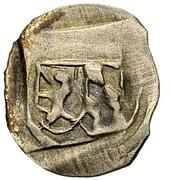 1 Pfennig - Ludwig III., Johann von Neumarkt and Otto I. of Pfalz-Mosbach (Amberg) – avers
