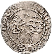 ½ Schilling - Philipp I. – avers