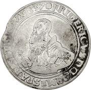1 Guldiner - Friedrich II. – avers