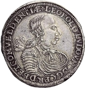 1 Thaler - Leopold Ludwig -  avers