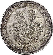 1 Thaler - Leopold Ludwig -  revers